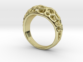 Bubble Ring No.1 in 18K Gold Plated