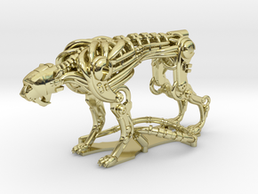 Robot Cheetah 50% in 18K Gold Plated