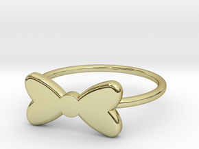 Midi Bow Ring the second by titbit in 18K Gold Plated