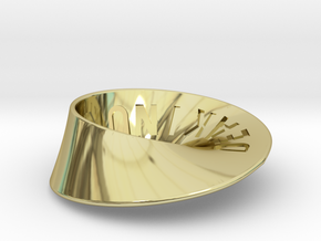 Deakin University Möbius Strip | 2mm in 18K Gold Plated