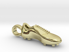 Soccer shoe in 18K Gold Plated