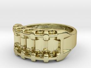 US8 Ring IX: Tritium in 18K Gold Plated