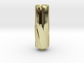 Big Bore Drip Tip in 18K Gold Plated