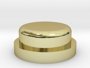 Fire Button - All Materials in 18K Gold Plated