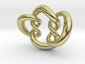 Knot A in 18K Gold Plated