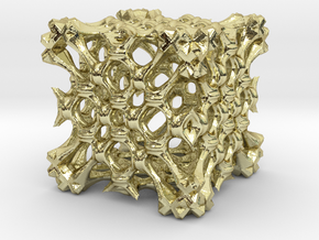 Fractal Box RS5 in 18K Gold Plated