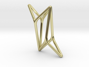 YOUNIVERSAL 4Y, Pendant. Pure Elegance in 18K Gold Plated