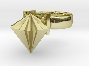 Limpit Ring in 18K Gold Plated