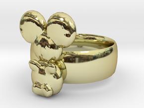 Koala ring in 18K Gold Plated