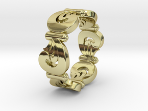 VORTEX SWELL in 18K Gold Plated