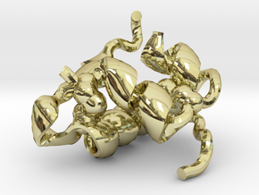 Insulin in 18K Gold Plated