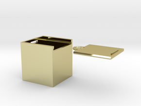 "Box for small ""SOMA cube"" (please see the product) in 18K Gold Plated"