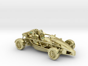 Ariel Atom 1/43 scale RHD no wings in 18K Gold Plated