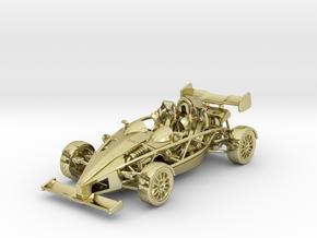 Ariel Atom 1/43 scale LHD w/wings in 18K Gold Plated