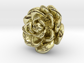 Rose Motif New in 18K Gold Plated
