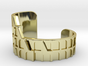 Colosseum Bracelet Size Small (Metal Version) in 18K Gold Plated