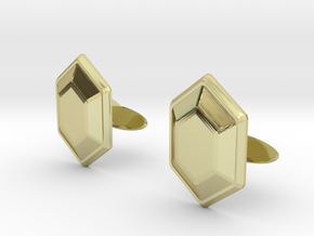 Rupee Cufflinks in 18K Gold Plated