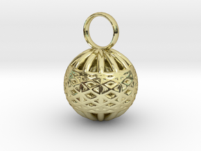 Ornament Pendant in 18K Gold Plated