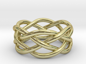Dreamweaver Ring (Size 6) in 18K Gold Plated