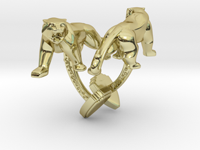 TwinTigers -Cuffs- in 18K Gold Plated