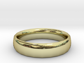 plain Ring Size 22x22 in 18K Gold Plated