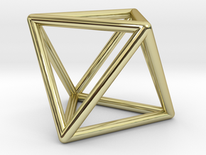 Vega Frame Single in 18K Gold Plated