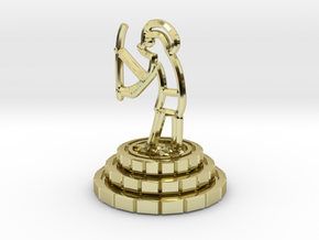 Knight of chess in 18K Gold Plated