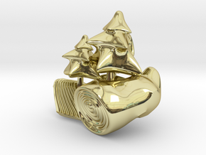 DeepForest in 18K Gold Plated