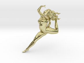 Dancer  in 18K Gold Plated
