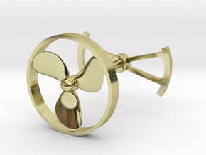 OpenROV Cufflinks in 18K Gold Plated