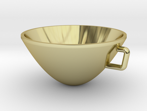 Parabolic Cup in 18K Gold Plated