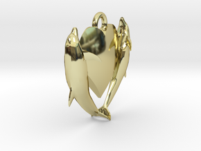 Delphine Earring Small in 18K Gold Plated