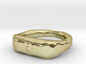 """""""Play"""" ring 1-st edition, """"Player"""" jewelry collect in 18K Gold Plated"""