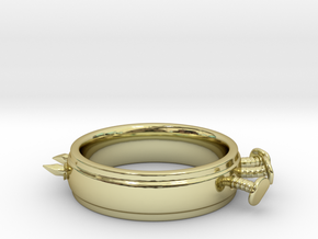 Nailed Wedding Ring - Size 4 in 18K Gold Plated