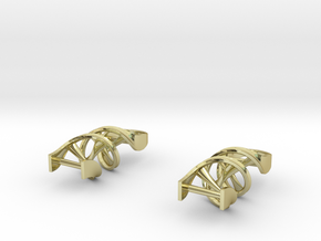 DNA Earrings in 18K Gold Plated