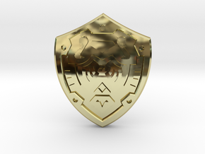 Hero's Shield I in 18K Gold Plated
