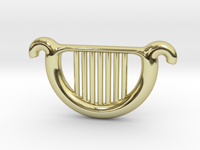 Goddess's Harp in 18K Gold Plated