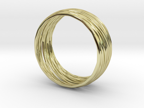 Fairy Twister Bangle - Talula  in 18K Gold Plated