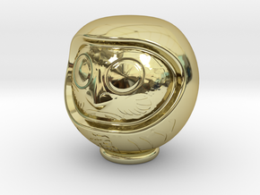 Daruma Doll 001 in 18K Gold Plated