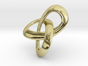 Trioloop pendant in 18K Gold Plated