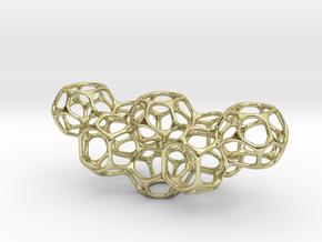 Soap Bubble Pendant II in 18K Gold Plated