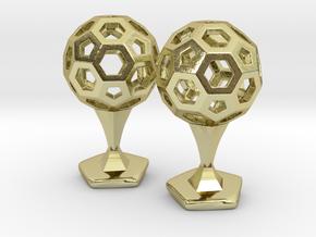 Bucky Cufflinks in 18K Gold Plated