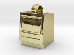 Macintosh SE/Plus Keychain item [25mm] in 18K Gold Plated
