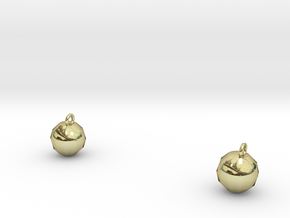 Xmas Ball Earrings in 18K Gold Plated