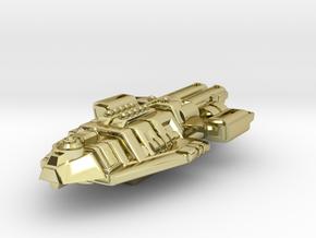 Starship Transport Hybrid in 18K Gold Plated