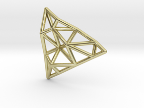 Tessellate Pendant — DATA IN EXILE in 18K Gold Plated
