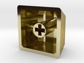 Legend of Zelda - Triforce Keycap (R4, 1x1) in 18K Gold Plated