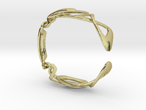 Kuleses Bracelet : The infinite Loop in 18K Gold Plated