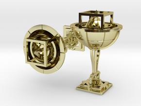 Keplerian Cufflinks in 18K Gold Plated