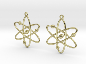 Atom Earring Set in 18K Gold Plated